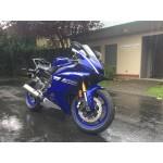 2017 Yamaha YZF-R6 Blue BIKE DONOR