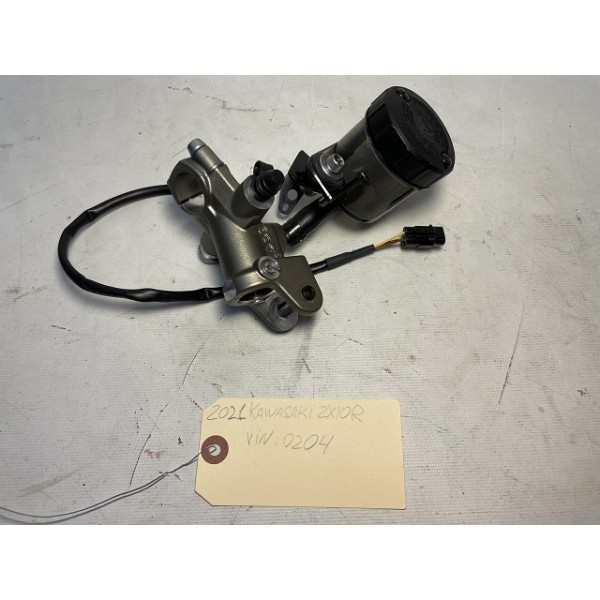 2021 Kawasaki ZX-10R BREMBO FRONT MASTER CYLINDER WITH RESERVOIR OEM